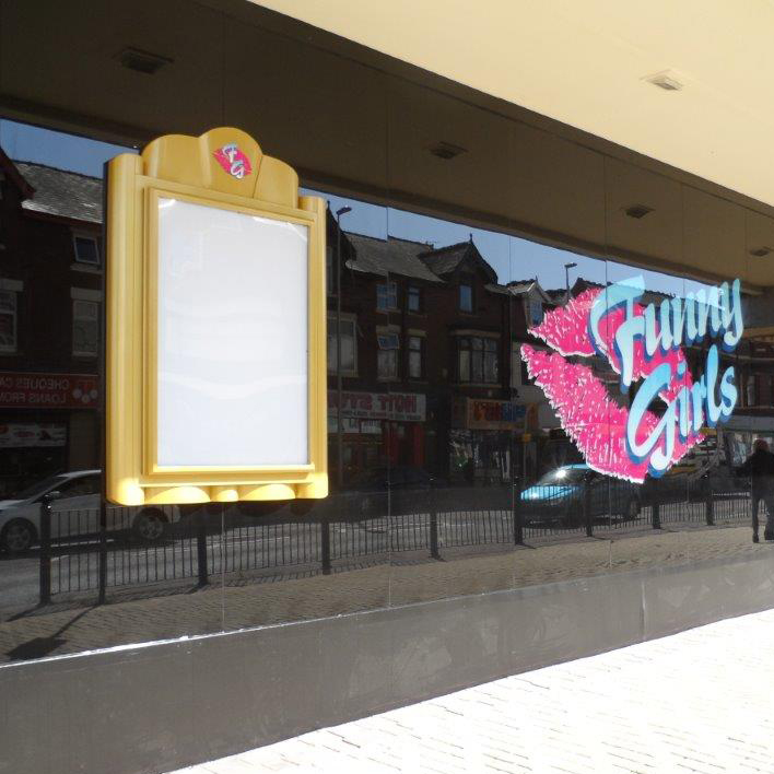 Bespoke Signs Project for Blackpool Night Club